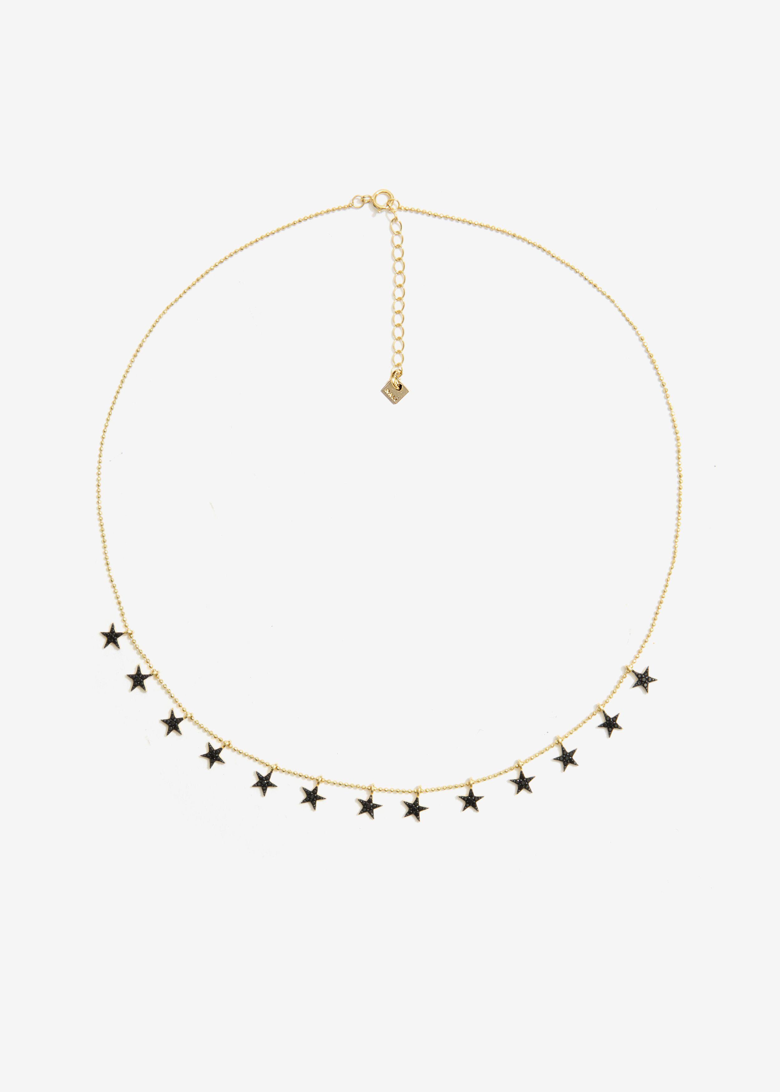 COLLANA STELLE IN ARGENTO