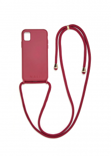 CUSTODIA IPHONE 11 AUDREY BORDEAUX